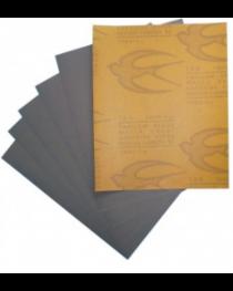#80 กระดาษทรายน้ำ ตรานกนางแอ่น 100 แผ่น